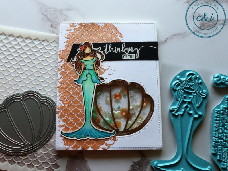 Stampingbella's Zodiac Girl Mermaid