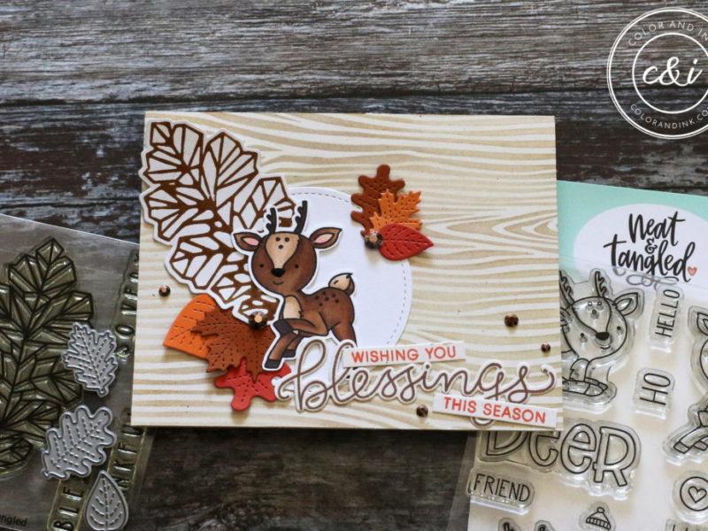 Oh Deer and Oak Leaf