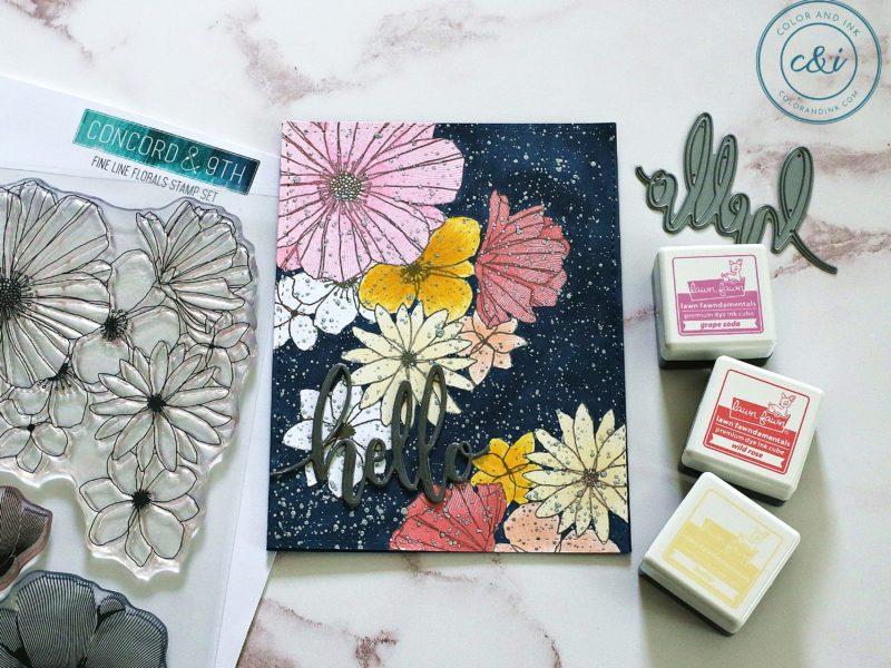 Concord and 9th's Fine Line Florals