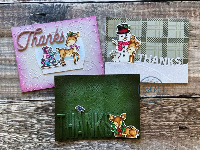 Newton's Nook Festive Fawns Cards