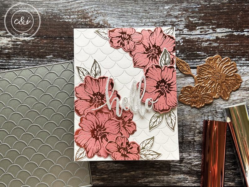 Spellbinders' Glimmer Radiant Flowers