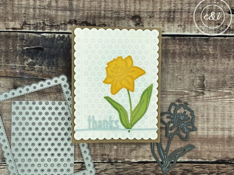 Simon Says Stamp's Daffodil Stem