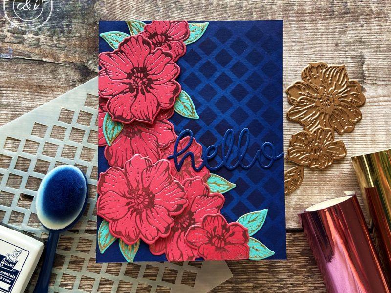 Spellbinders' Glimmer Radiant Flowers 2